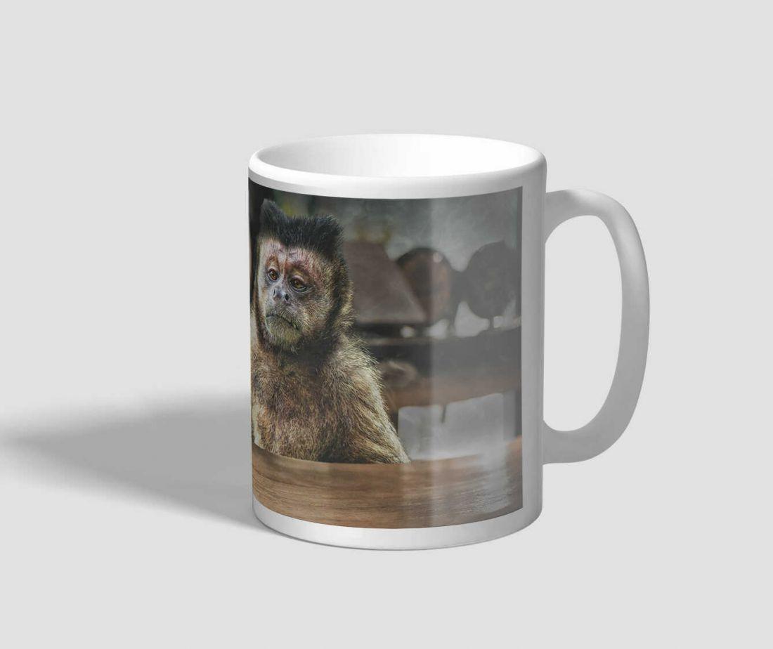 Söröző majmos bögre